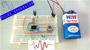 Read more about the article Pulse Generator Using 555-IC