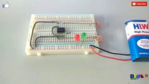Read more about the article Simple Touch Switch Circuit using 555 Timer I-C