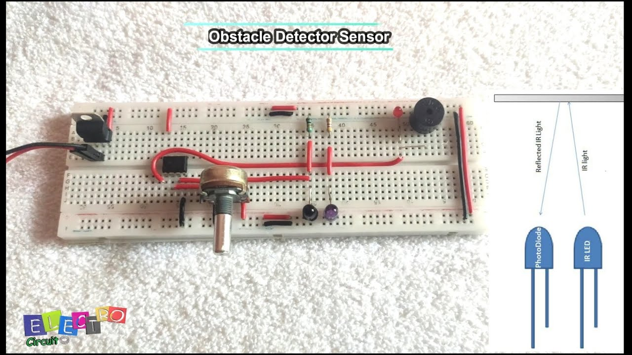 Read more about the article Obstacle Detector Using LM-358(Op-amp) & its PCB