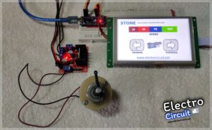Read more about the article L298 Motor-Controller using TFT display