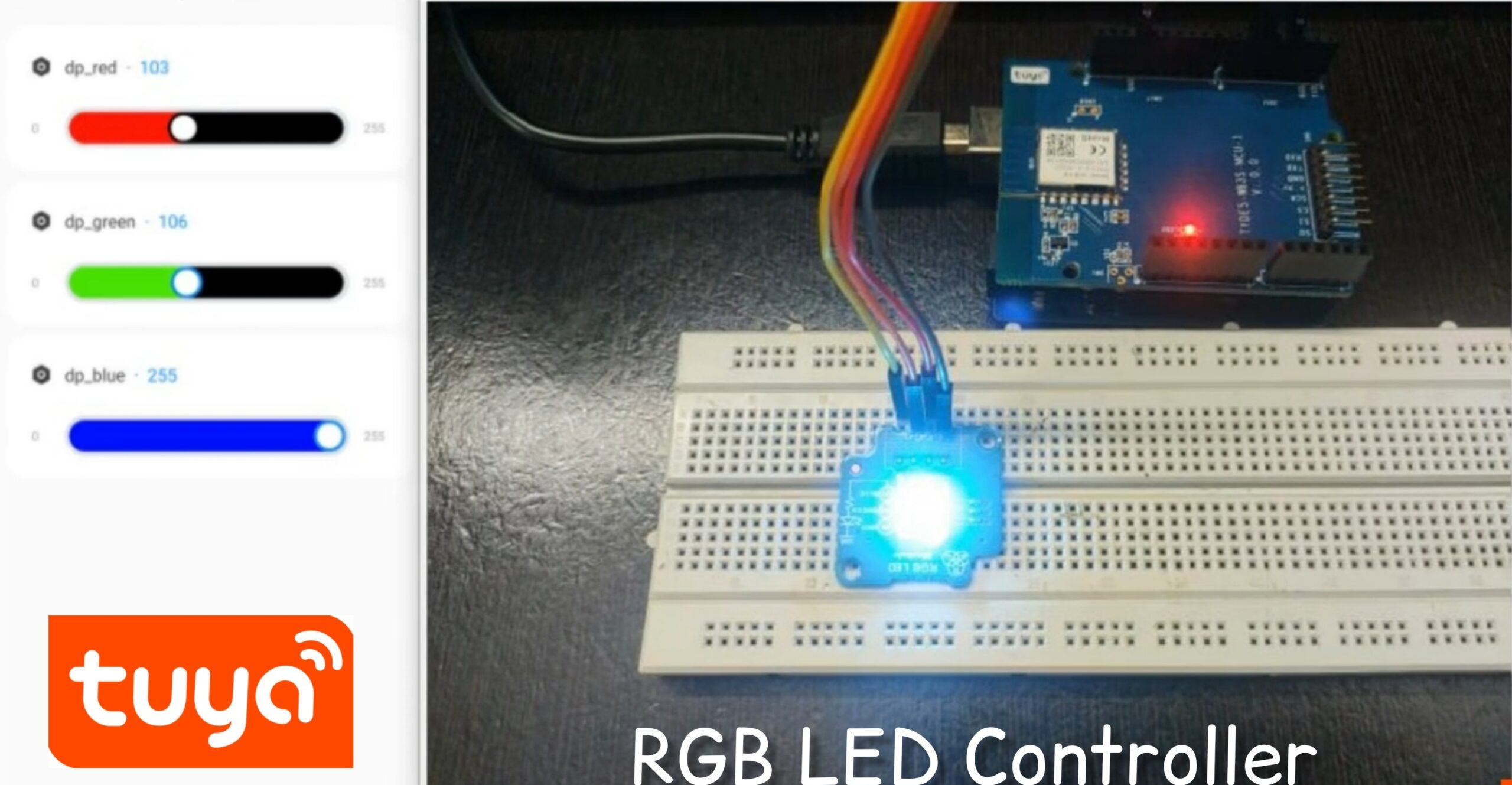 Read more about the article RGB LED Controller With Tuya IoT Platform