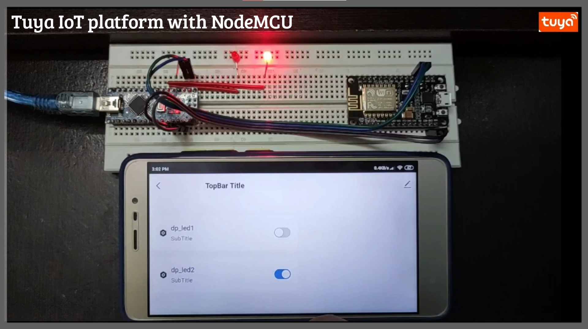 Read more about the article Tuya IoT platform with NodeMCU