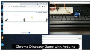 Read more about the article Chrome Dinosaur game with Arduino